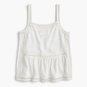 J. Crew Point Sur Crepe Tank